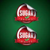糖标签 — 图库矢量图片