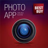 Phot app icon - best buy — Vecteur