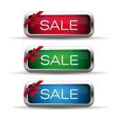 Etiqueta venta estacional — Vector de stock