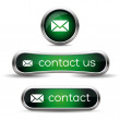 Stockvector : Contact us icon