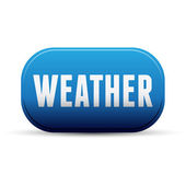 Weather icon button — Stock Vector