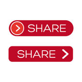 Vector share button — Stock Vector
