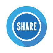 Vector share button — Stock Vector