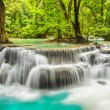 Stock Photo: ErawWaterfall in Kanchanaburi Province