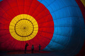 Balloon view from inside — Stock Photo
