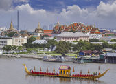 Landscape of Thai's king palace — Stock Photo