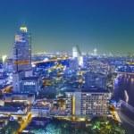 vista de noche de la ciudad de Bangkok — Foto de Stock   #16760437