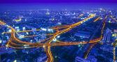 бангкокская ночь — Стоковое фото