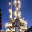 Oil refinery plant - Stockfoto