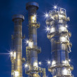 Oil refinery plant - Stock Photo