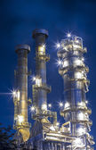 Oil refinery plant — Foto de Stock