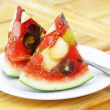 Mixed fruit watermelon - Stockfoto