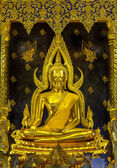 Golden buddha — Stockfoto