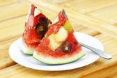 Melancia de frutas mistas — Foto Stock