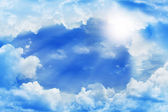 Beautiful clouds — Stockfoto