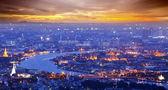 Landskapet i bangkok och floden — Stockfoto