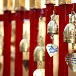 Bronze bells in Doi Suthep buddhist temple — Stock Photo #16819061