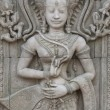 Apsara sculptures at Angkor Wat - Stockfoto