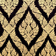 Thai pattern background - Foto Stock