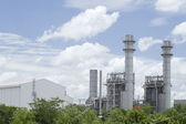 Fábrica de gas natural — Foto de Stock