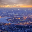 Landscape of Bangkok and the river — Stockfoto