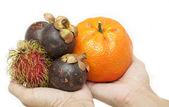 Fruta tailandesa — Foto de Stock