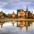 Sukhothai historical park - Stock Photo