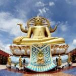 Big Buddha in Wat Phra Yai Temple, Koh Samui island, — Stock Photo #16879329