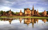Parque histórico de sukhothai — Foto de Stock
