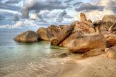 The Rock in Thai island of Koh Samui. — Stockfoto