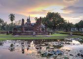 Parc historique temple en thaïlande. — Photo