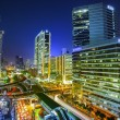 Bangkok city night view — Foto de Stock
