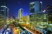 Bangkok city night view — Stock Photo