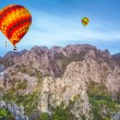 Hot air baloon - Stock Photo