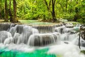 Erawan Waterfall in Kanchanaburi Province — Stock Photo