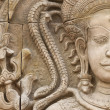 Apsara sculptures - Stock Photo