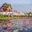 Chiangmai royal pavilion - Stock Photo