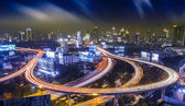 Bangkok city night — Stockfoto