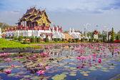 Chiangmai королевский павильон — Стоковое фото