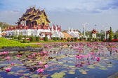 Chiangmai royal pavilion — Foto Stock