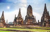 Pagoda at Wat Chaiwattanaram Temple — Stock Photo