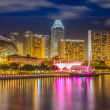 Singapore by night — Stock Photo #23512819