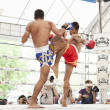 Thai boxing match - Stockfoto
