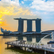 Marina Bay Sands Hotel - Stock Photo