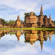 Stock Photo: Main buddhStatue in Sukhothai historical park