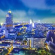 Stock Photo: Bangkok city night view