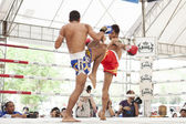 Thai boxing match — Stock Photo