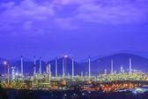 Rafinerii przemysłowych — Zdjęcie stockowe