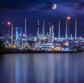 Refinery industrial plant — Stock Photo