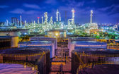 Oil refinary industry — Foto de Stock